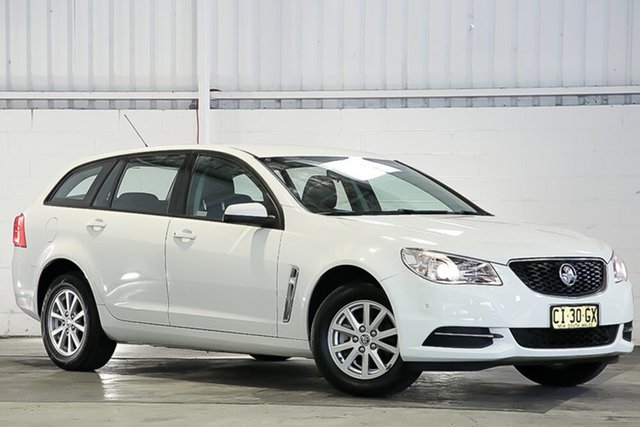 Used Holden Commodore VF II MY16 Evoke Sportwagon West Gosford, 2016 Holden Commodore VF II MY16 Evoke Sportwagon White 6 Speed Sports Automatic Wagon