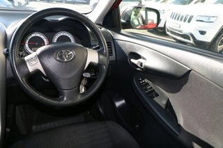 2007 Toyota Corolla ZRE152R Conquest Red 4 Speed Automatic Sedan