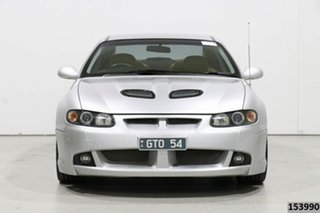 2002 Holden Special Vehicles Coupe V2 GTO Silver 4 Speed Automatic Coupe.