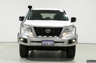 2017 Toyota Landcruiser Prado GDJ150R MY16 GX (4x4) White 6 Speed Automatic Wagon.