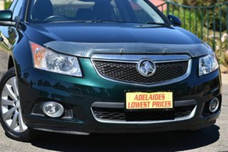 2014 Holden Cruze JH Series II MY14 Z Series Green 6 Speed Sports Automatic Sedan