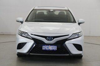 2018 Toyota Camry AXVH71R SL White 6 Speed Constant Variable Sedan Hybrid.
