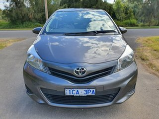 2014 Toyota Yaris NCP130R YR Grey 4 Speed Automatic Hatchback