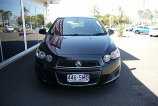 2012 Holden Barina TM MY13 CD Black 6 Speed Automatic Hatchback