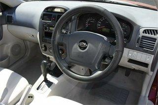2005 Kia Cerato LD MY06 EX Red 4 Speed Automatic Sedan
