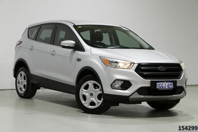 Used Ford Escape ZG Ambiente (FWD) Bentley, 2017 Ford Escape ZG Ambiente (FWD) Silver 6 Speed Automatic SUV