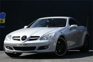 2005 Mercedes-Benz SLK-Class R171 MY06 SLK350 Silver 7 Speed Automatic Roadster.