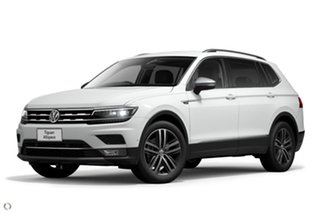 2020 Volkswagen Tiguan 5N MY21 140TDI Highline DSG 4MOTION Allspace White 7 Speed.