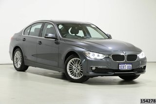 2014 BMW 316i F30 MY14 Grey 8 Speed Automatic Sedan.