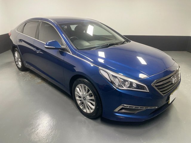 Used Hyundai Sonata LF Active Hamilton, 2015 Hyundai Sonata LF Active Blue 6 Speed Sports Automatic Sedan