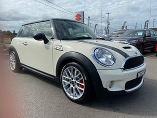 2010 Mini Hatch R56 Cooper S Chilli Beige 6 Speed Manual Hatchback