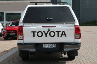 2020 Toyota Hilux TGN121R Workmate Double Cab 4x2 White 6 Speed Sports Automatic Utility