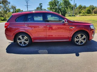 2016 Holden Captiva CG LTZ Red Sports Automatic Wagon.