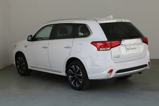 2018 Mitsubishi Outlander ZK MY18 PHEV AWD LS White 1 Speed Automatic Wagon Hybrid.