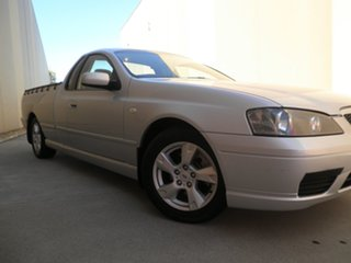 2006 Ford Falcon BF Mk II XLS Ute Super Cab Silver Frost 4 Speed Sports Automatic Utility