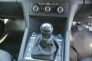 2015 Volkswagen Amarok 2H MY15 TDI400 4Mot Trendline White 6 Speed Manual Cab Chassis
