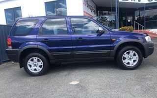 2004 Ford Escape ZB XLS Blue 4 Speed Automatic SUV.