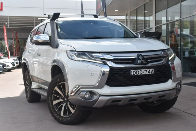 Used Mitsubishi Pajero Sport QE MY16 Exceed Blacktown, 2016 Mitsubishi Pajero Sport QE MY16 Exceed White Solid 8 Speed Sports Automatic Wagon