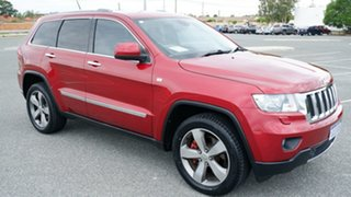 2012 Jeep Grand Cherokee WK MY2012 Limited Cherry Red 5 Speed Sports Automatic Wagon.
