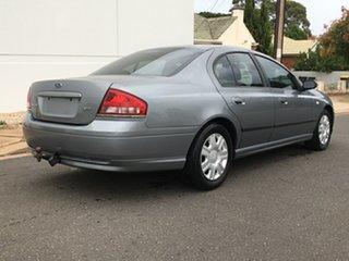 2005 Ford Falcon BA Mk II XT Grey 4 Speed Sports Automatic Sedan.