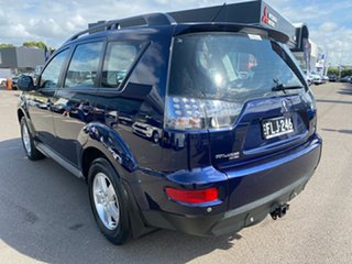 2012 Mitsubishi Outlander ZH MY12 LS 2WD Blue 6 Speed Constant Variable Wagon