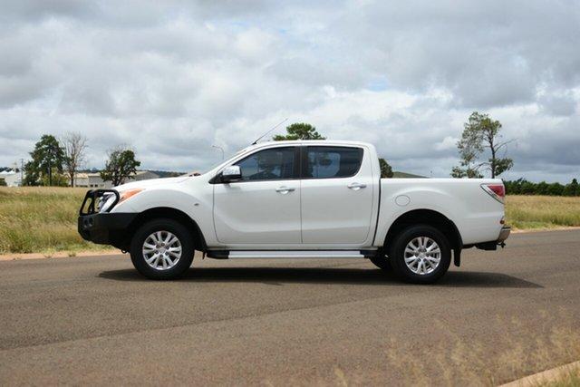 Used Mazda BT-50 MY13 XTR (4x4) Kingaroy, 2014 Mazda BT-50 MY13 XTR (4x4) White 6 Speed Manual Dual Cab Utility