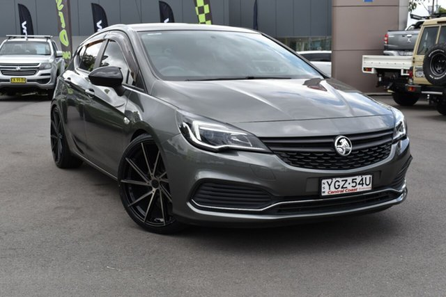 Used Holden Astra BK MY18.5 R Tuggerah, 2018 Holden Astra BK MY18.5 R Cosmic Grey 6 Speed Sports Automatic Hatchback