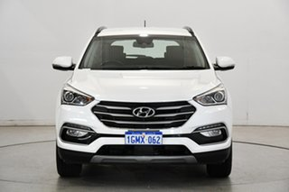 2018 Hyundai Santa Fe DM5 MY18 Active White Crystal 6 Speed Sports Automatic Wagon.