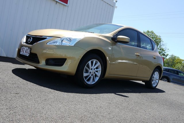 Used Nissan Pulsar C12 ST Bundaberg, 2014 Nissan Pulsar C12 ST 1 Speed Constant Variable Hatchback