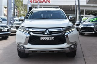 2016 Mitsubishi Pajero Sport QE MY16 Exceed White Solid 8 Speed Sports Automatic Wagon.