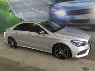 2017 Mercedes-Benz CLA200 117 MY17 Silver 7 Speed Automatic Coupe.