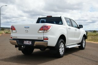 2014 Mazda BT-50 MY13 XTR (4x4) White 6 Speed Manual Dual Cab Utility