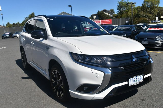 Demo Mitsubishi Outlander ZL MY21 PHEV AWD GSR Wantirna South, 2020 Mitsubishi Outlander ZL MY21 PHEV AWD GSR Starlight 1 Speed Automatic Wagon Hybrid