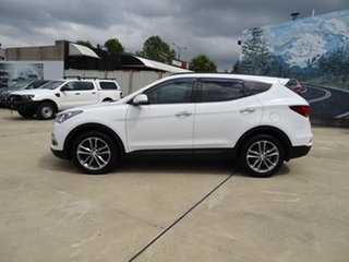 2015 Hyundai Santa Fe DM3 MY16 Highlander White 6 Speed Automatic Wagon