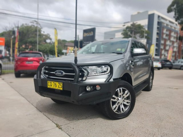 Used Ford Everest Trend Goulburn, 2018 Ford Everest Trend Aluminium Sports Automatic SUV