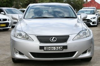 2008 Lexus IS250 GSE20R Prestige Silver 6 Speed Auto Sequential Sedan