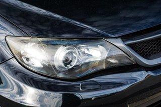 2012 Subaru Impreza G3 MY12 WRX AWD Black 5 Speed Manual Sedan
