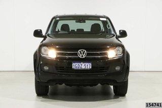 2016 Volkswagen Amarok 2H MY16 TDI420 Trendline (4x4) Black 8 Speed Automatic Dual Cab Utility.