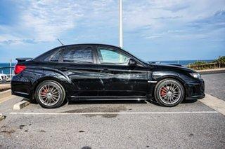 2012 Subaru Impreza G3 MY12 WRX AWD Black 5 Speed Manual Sedan.
