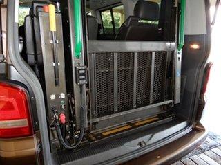 2013 Volkswagen Multivan T5 MY13 Comfortline TDI400 4 Motion Brown 7 Speed Auto Direct Shift Wagon