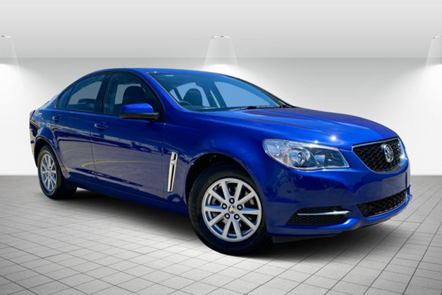 Used Holden Commodore VF II MY16 Evoke Hervey Bay, 2016 Holden Commodore VF II MY16 Evoke Blue 6 Speed Sports Automatic Sedan