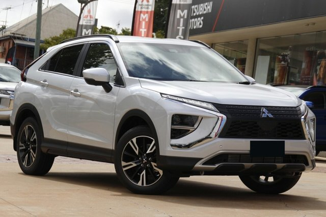 New Mitsubishi Eclipse Cross YB MY21 Aspire 2WD Essendon North, 2021 Mitsubishi Eclipse Cross YB MY21 Aspire 2WD White 8 Speed Constant Variable Wagon