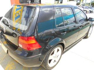 2003 Volkswagen Golf 4th Gen MY02 S Black 5 Speed Manual Hatchback