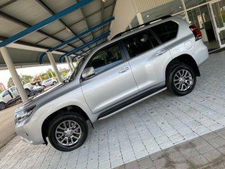 2019 Toyota Landcruiser Prado VX Silver Sports Automatic Wagon