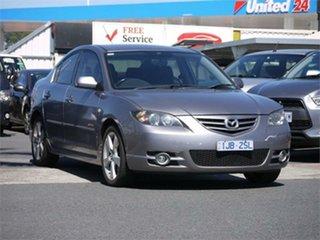 2005 Mazda 3 BK SP23 Grey 5 Speed Manual Sedan.