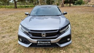 2017 Honda Civic 10th Gen MY17 VTi-LX Grey 1 Speed Constant Variable Hatchback.
