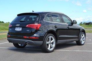 2011 Audi Q5 8R MY12 TFSI S Tronic Quattro Black 7 Speed Sports Automatic Dual Clutch Wagon.