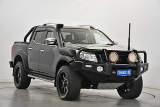 2017 Nissan Navara D23 S2 ST-X N-SPORT Black Edition Black 7 Speed Sports Automatic Utility