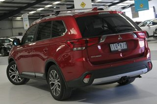 2016 Mitsubishi Outlander ZK MY17 LS Safety Pack (4x2) Red Continuous Variable Wagon.