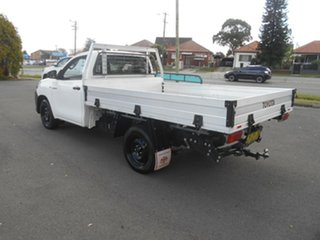 2016 Toyota Hilux GUN122R Workmate White 5 Speed Manual Cab Chassis.